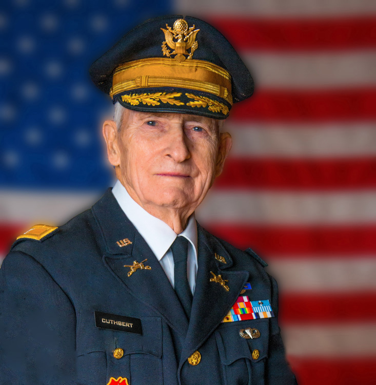 US Army Colonel (ret) Peter W. Cuthbert Hometown Hero selected by the Westhampton Free Library and VFW Post 5350. January 2017